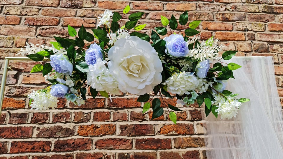 Flowers for Arch ~ Welcome Sign ~ Easel ~ Wedding  ~ Mirror  ~ Floral Decoration