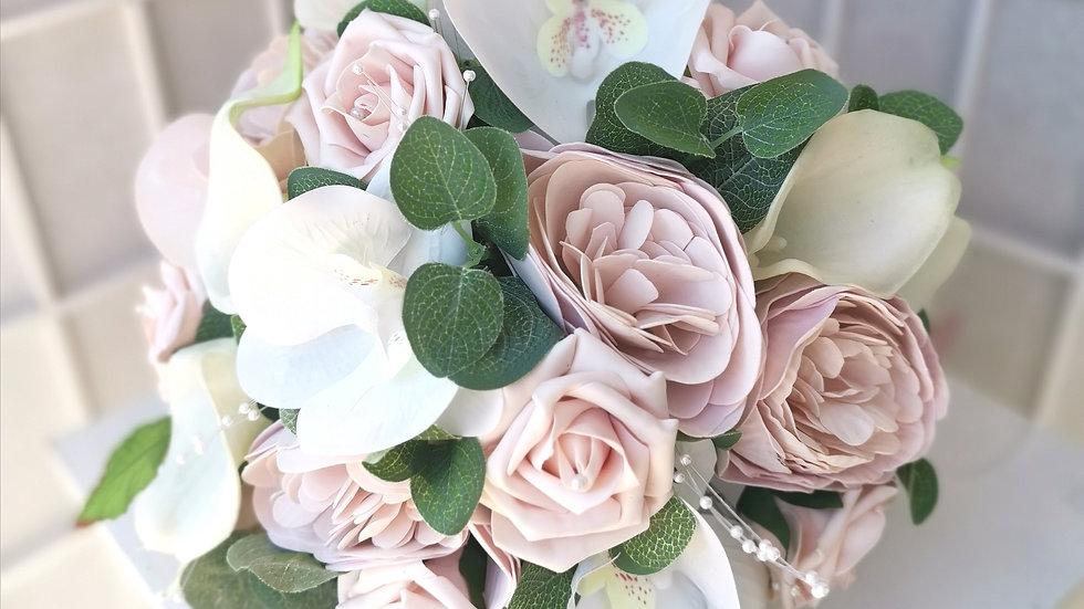 Blush Wedding Flowers | Fake Bouquet of flowers | Wedding Flowers