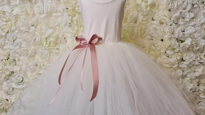 tutu skirt | Tutu dress for flowergirl | Rose gold Tutu