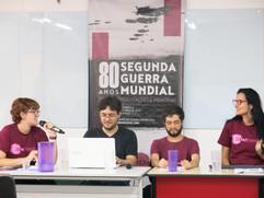 """Mesa Discente """"O Brasil em guerra"""""""