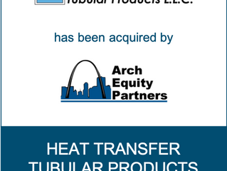 Romanchuk & Co. Advises Heat Transfer Tubular Products on Sale to Arch Equity Partners