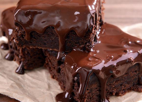 Flippin' Good Brownies