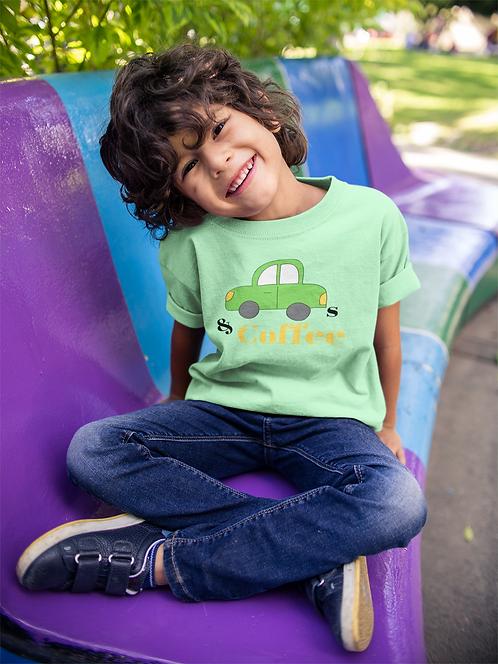 Cars & Coffee Children's T-Shirt