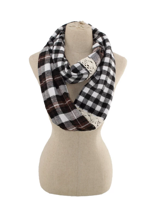 Checkered Flag Scarf - Thick