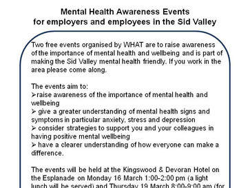 Mental Health Awareness Events