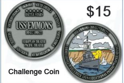 USS Emmons Challenge Coin