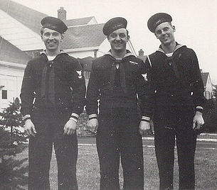 Warren Otto, Charles Peck, and Unknown.j