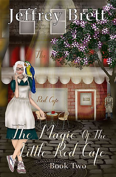 The Magic of the Little Red Cafe - Front