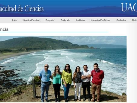 """Noticias UACh: Oceanósfera recibe reconocimiento a """"sustentabilidad y educación ambiental"""" del MMA"""