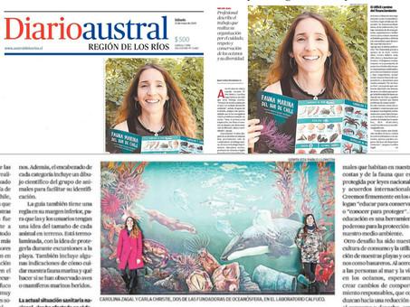 El Diario Austral de Los Ríos destaca nuestra labor en educación y conservación marina