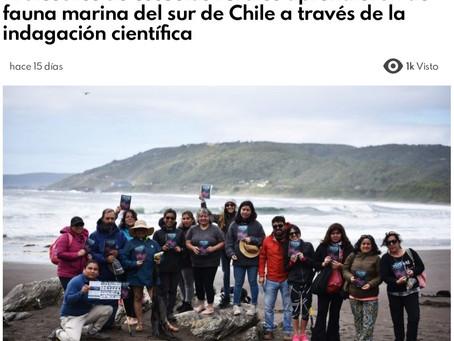 PAGINA V: Oceanósfera apoya a profesores de la región a aprender y enseñar acerca de fauna marina