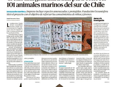 """Diario Austral de Los Ríos: """"Animales Marinos Amenazados"""", nueva guía de Oceanósfera"""