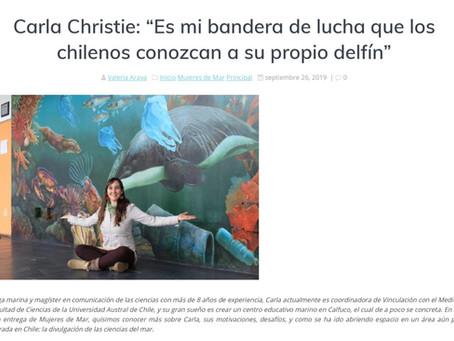 Noticias Mar y Ciencia: La importancia que los chilenos conozcan a su propio delfín