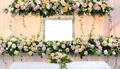 花の葬儀 花祭壇