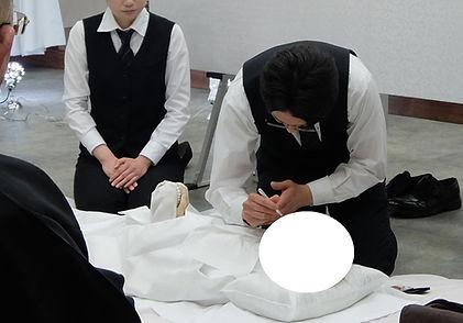 花の葬儀 おくりびと納棺式