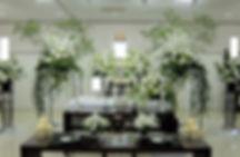 オリジナルスタンドの花祭壇