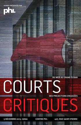 Affiche de la 1ère édition de Courts Critiques
