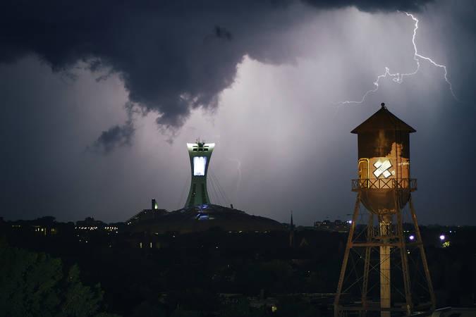 Nuit orageuse sur Hochelaga