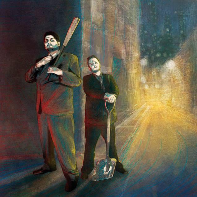 Illustration pour Boulevard des Cicatristes de SAGE