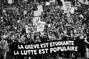 La grève étudiante est étudiante, la lutte est populaire