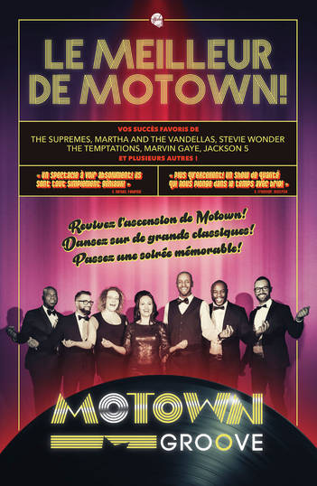 Affiche Motown Groove