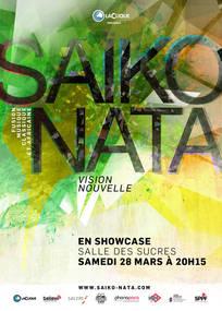 Affiche pour Vision Nouvelle de Saiko Nata