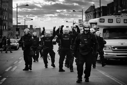 Danse de la brigade urbaine