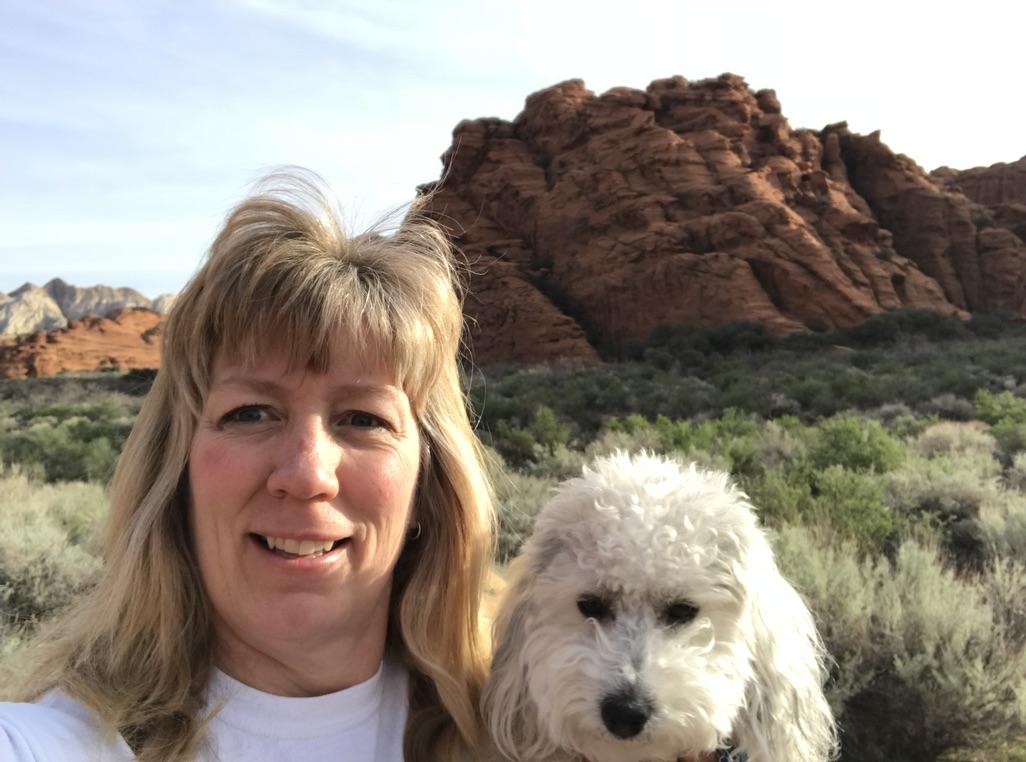 Heidi and Kizzy in Southern Utah