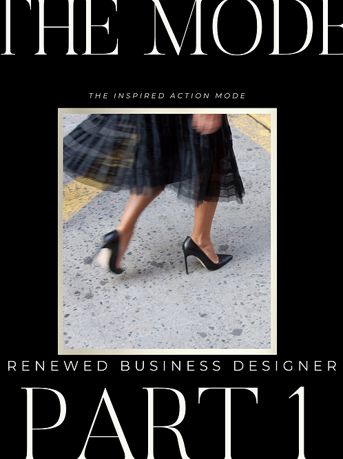 The Renewed Business Designer 12-Week Course