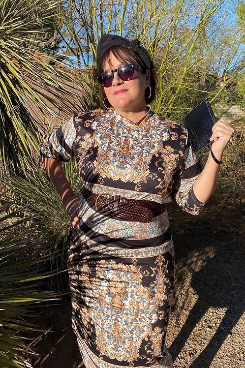 Glamazon Traveler Dress