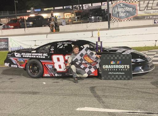 Jet Noland wins Pro Late Model 50 at New Smyrna Speedway