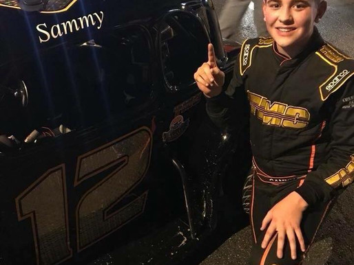 14 year old Legends Car Standout Sammy Smith will make his Stock Car Racing debut at New Smyrna