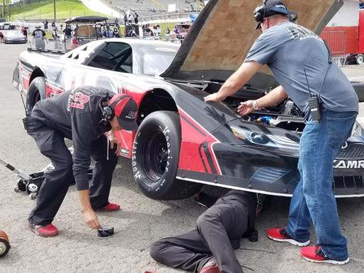 P.8 on the day at Fairgrounds Speedway Nashville