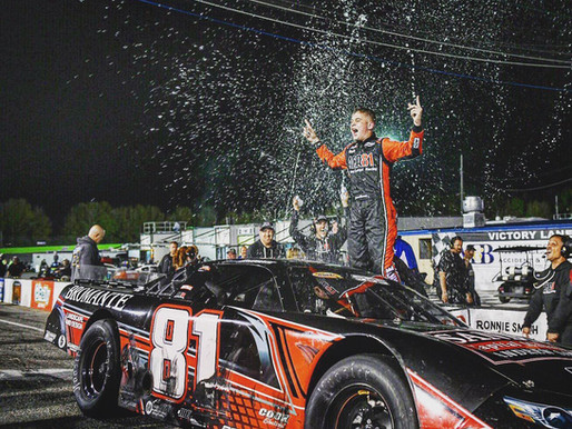 Giovanni Bromante WINS Southern Super Series Race #2 at Five Flags speedway