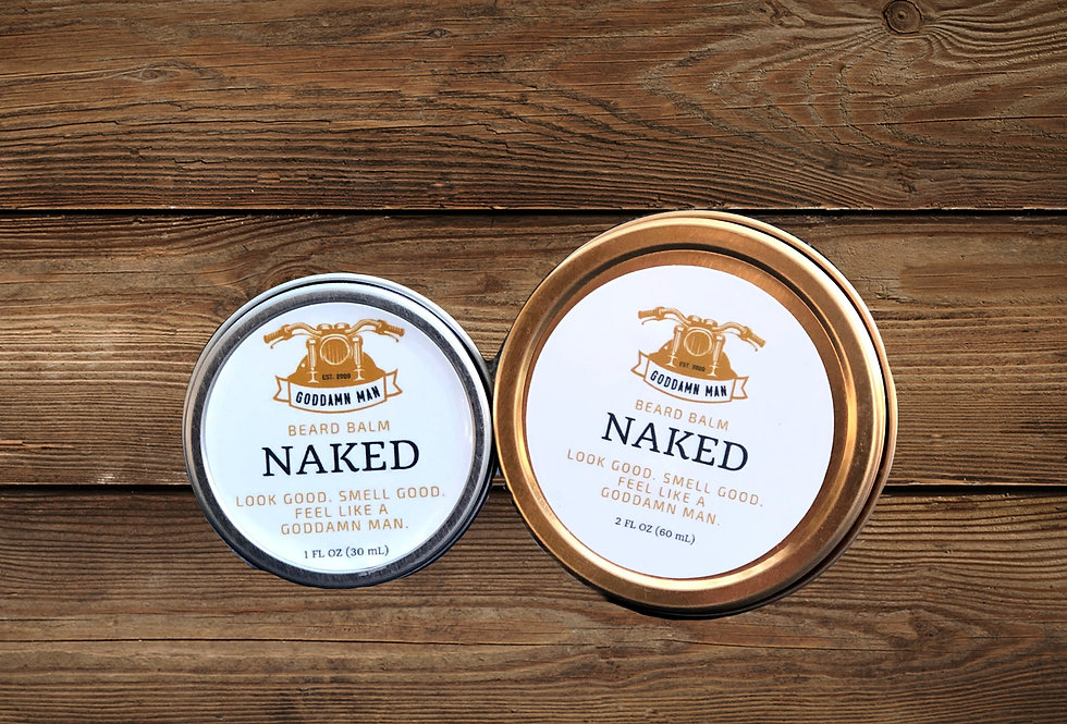 Naked Beard Balm by Goddamn Man Co