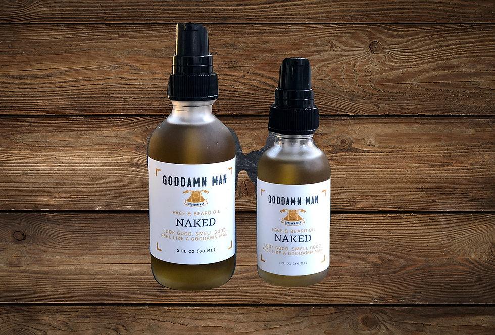 Naked Beard Oil by Goddamn Man Co