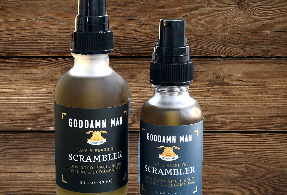 Scrambler Beard Oil by Goddamn Man Co