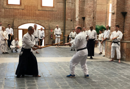 Aikido intensive in Motril, Spain. April