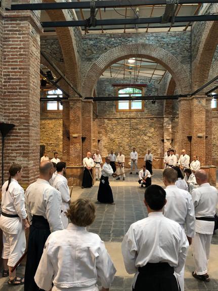 Aikido intensive in Motril, Spain. April