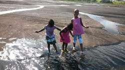 a visit to La Brea Pitch Lake