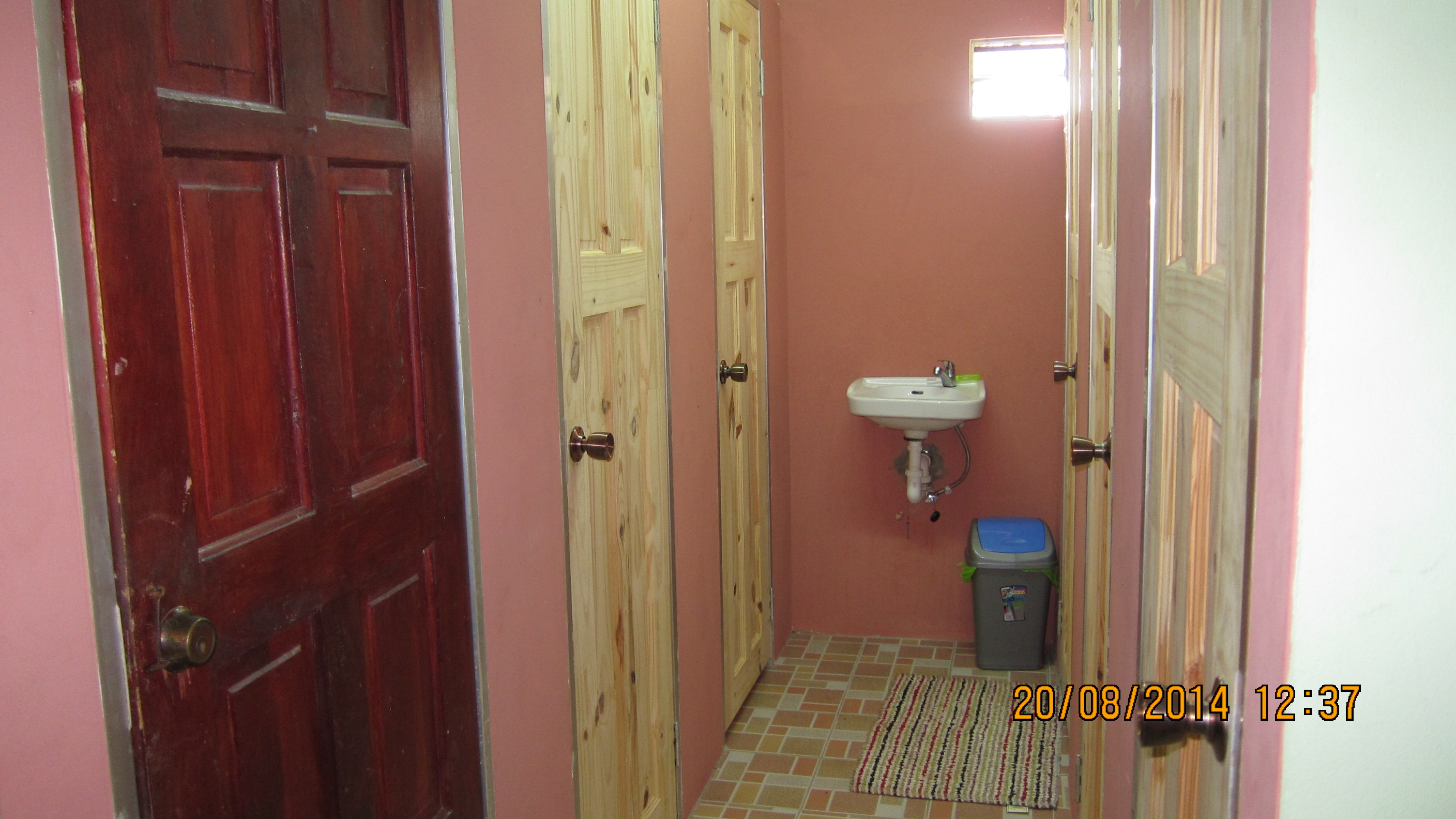 progress of additional toilets