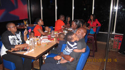 Dinner with the kids at T.G.I Friday