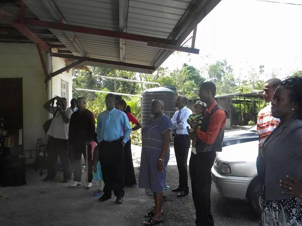 members of JCOM first visit