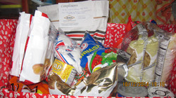Food Hampers donated