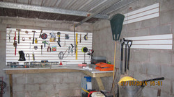 build shelves for the store room