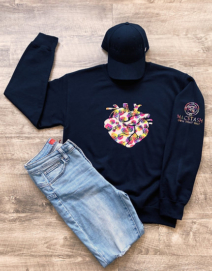 Heart of Roses Collection - Crew Neck