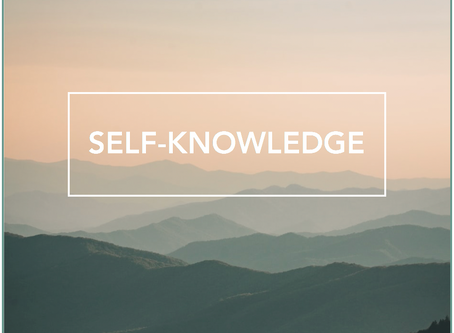 Self-knowledge 101