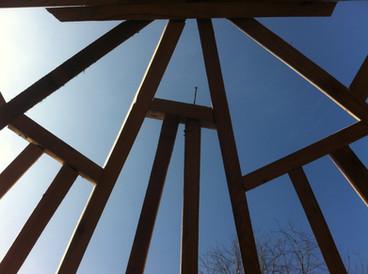 Trem Eilio extension roof frame