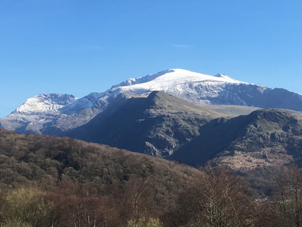 Snowdon lives up to it's name