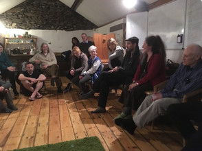 A gathering in the Barn